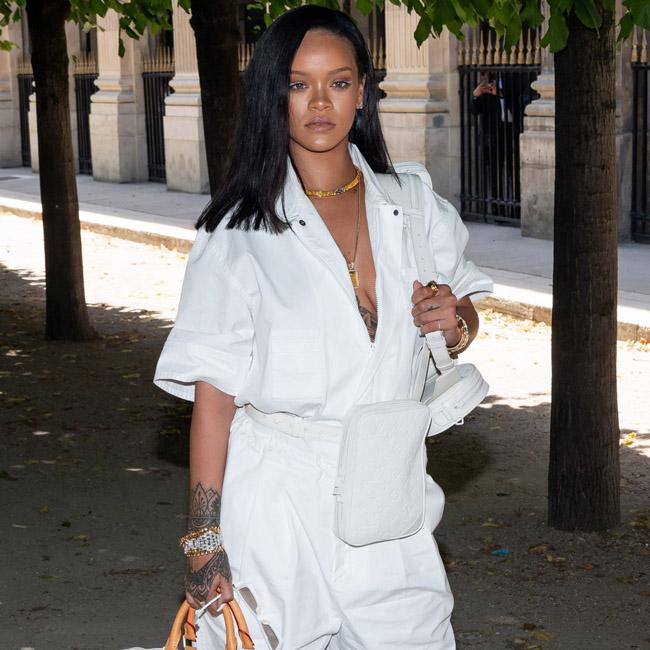 Rihanna: Schminke war verboten